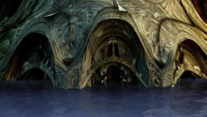 Entrance to the Water Caves by Chordus