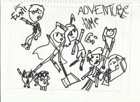 adventure time fun loved loved by Fionamanson