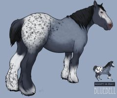 Adopt A Day Bluebell 7-26-14 by GuardianDragon1