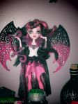 Monster High Ghoul's Rule: Draculaura Three by Childofwestwind
