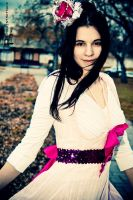 Rebecca in the Wind by photosynthetique