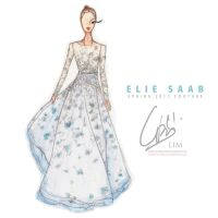 Elie Saab Spring 2012 Illus. by rednotion