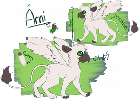 Arni ref sheet by revioLATE