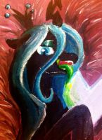 Queen Chrysalis by DLowell