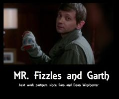 Mr Fizzels and Garth by Reinrassic-the-5th
