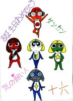 Sgt. Frog Birthday by Vampjezzc