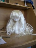 Doll WIP new wig XD by Xenosnake