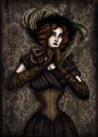 Victorian Singer by LaTaupinette