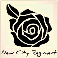 New City Regiment's temporary logo by angryspacegoat