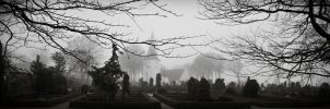 Church In Mist by B5160-R