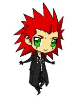 Chibi Axel by JuliaMadrigal