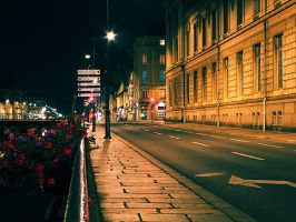 Rennes by night by Bigvicente