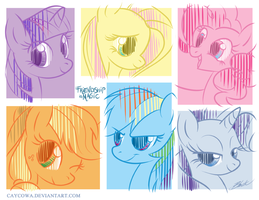 MLP - Friendship is Magic by caycowa