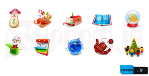 christmas-icons-set by p30room