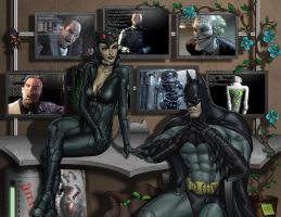 Batman Arkham City by Darthval