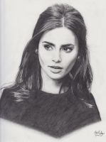 Lily Collins by Spirits79