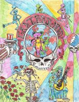 Grateful Dead Visual Orgasm by Retro-60s