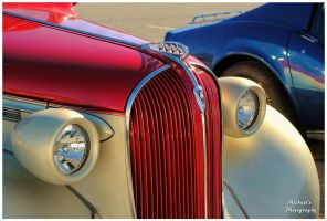 The Hood Ornament On A Cool Plymouth Street Rod by TheMan268