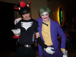 The Joker and Shadow by chippy-lightgaia
