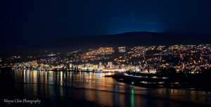 North Vancouver by Night by wayner8088