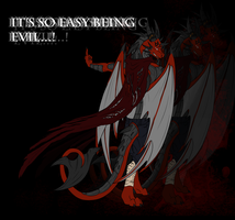 Villain Contest-- Being Evil.... by RedtheGamr
