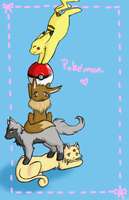 Pokemon Stack by Fang-Chan13