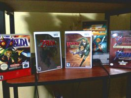 Zelda collection Front Covers3 by RockinX