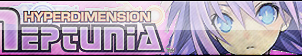 Hyper Dimension Neptunia Fan Button by ButtonsMaker