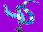 Articuno doing a peace sign by barnowlgurl23