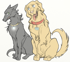 Thorki dog by ASAMESHII