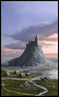 Coastal keep by woutart