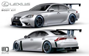 IS Super GT body kit by Morfiuss