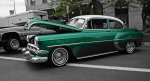 Green Chevy by tundra-timmy
