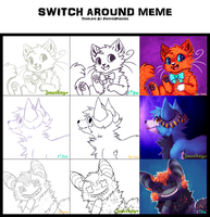 switch around meme by rizusaur