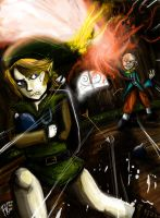 Zelda LA. Stealing. Thief-Link by Francisco-K