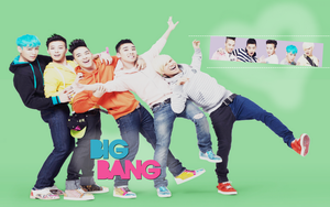 BIGBANG - WALLPAPER 1 by Ekumimi