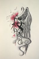 my tattoo design by AltairaRana