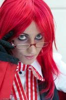 Grell - eyes of a shinigami 2 by gattomannaro