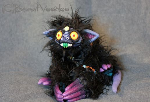 Gnurr Wormcruncher the Gnork - patiently waiting by BeastVoodoo
