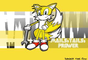 Tails by DannyTheFox07