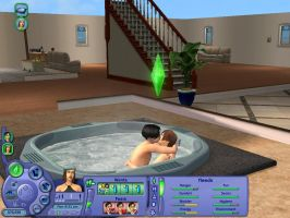 Sims 2: Different Family by dragonfiend