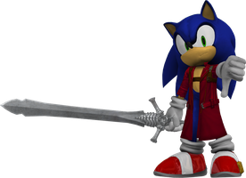 Sonic Dante (Young) by NeoMetalSonic360