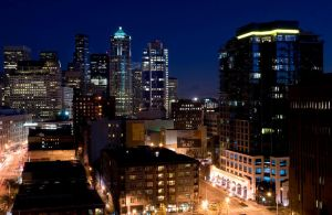 Seattle Cityscape -Belltown- by 32tsunami
