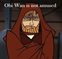 Obi-Wan is not amused by ImaDoctor96