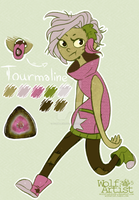 OC ref: Tourmaline by WolfArtistStudio