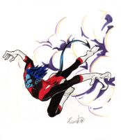 Nightcrawler for Jer by innerpeace1979