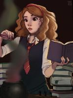 Hermione - Potions by Fay-san
