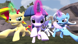My Little Pony: Unicorn Rivals by Pika-Robo