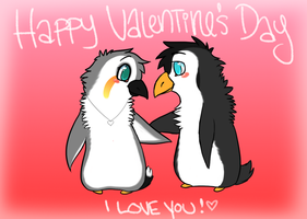 Happy Valentine's Day by Sliced-Penguin