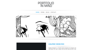 Portfolio In Mind | A Minimalist Tumblr Theme by CPDigitalDarkroom